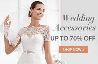 Wedding Accessories Up To 70% Off