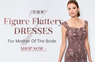 Top 7 Figure Flattery Mother Dresses